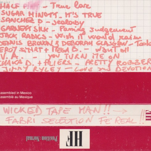 This tape is wicked selection of jamaican and UK digital tunes. Side B in particular, with some nice 1992 delay expertiments. DOWNLOAD (right clic to save) Tracklist Half Pint – […]